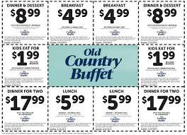 Old Country Buffet Printable Coupons Buy e Get e Free solnet