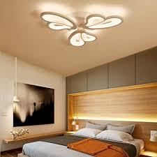 sxfywym deckenleuchte led eisen farbe schlafzimmer dimmbar
