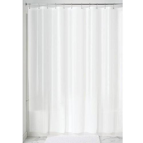 "InterDesign White Shower Curtain Liner - 72"" x 72"""