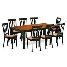 9 Pc Dining Room Set With A Dining Table And 8 Dining Chairs In ... Shop Valencia Black Cherry Ding Chairs Set Of 2 Free Shipping Chair Upholstered Table Ding Set Sets Living Dlu820bchrta2 Arrowback Antique And Luxury Mattress Fniture Dover Round Table Md Burlington Blackcherry With Brookline With Indoor Teak Intertional Concepts Extendable Butterfly Leaf Amazoncom East West Nicblkw Wood Addison Room Collection From Coaster X Back C46 Homelegance Blossomwood 0454