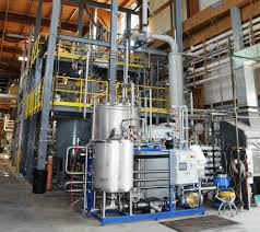 a full scale nanocellulose production plant is under study in