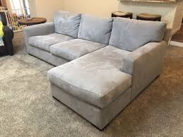 Crate And Barrel Verano Sofa Slipcover by Crate U0026 Barrel Axis Ii 2 Piece Sectional Sofa In Nickel Paid Full