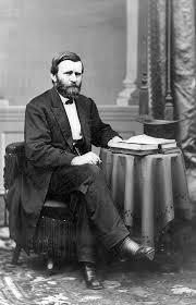 President Grant Seated