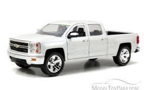Chevy Silverado Pickup Truck, White Jada Toys Just Trucks 97018 ...
