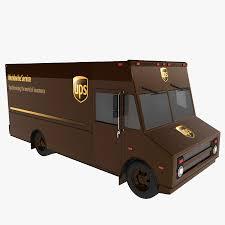 UPS Truck 3D Model $12 - .oth .max - Free3D