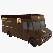100 Ups Truck Toy UPS 3D Model 12 Unknown Max Free3D
