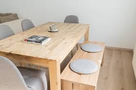 miqio design sitzkissen aus filz mit echtleder elementen rutschfest rund hellgrau 4er set