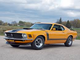 Ford Mustang 1970 Wallpaper 9