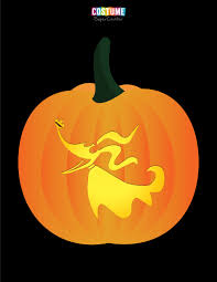 Oogie Boogie Halloween Stencil by Nightmare Before Christmas Pumpkin Carving Stencils Costume