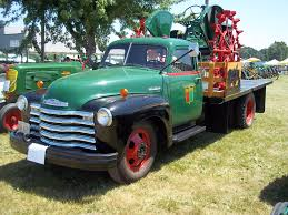 100 1950s Chevy Trucks 4400 With Oliver Tractor My Truck Pictures Pinterest