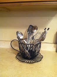 Utensil Holder Made From Coffee Cup Candle Perfect For My Themed Kitchen