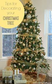 tips for decorating your christmas tree christmas tree