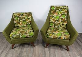 1960s Vintage Adrian Pearsall For Prestige Furniture Corporation His And  Hers Chairs - A Pair Adrian Pearsall Platform Sofa With Marble Side Tables Daybed Midcentury Danish Modern Style Teak Avocado Green Tweed Ding Chairs Set Of 6 La Jax For Craft Midcentury Brutalist Six Oak Cause A Frockus Pearsall Ding Chairs Party Fowl Antiques Vintage Chair Fully Restored Paddle Single Lounge Scoop And Ottoman Scdinavian Traditional Dering Hall Pair Adrian Chair Teksol