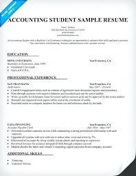 Sample Resume College Graduate Accounting Regarding Samples For Graduates Terrific A