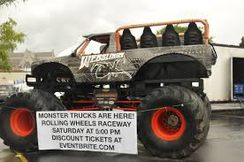 Monster Truck Parked In Auburn Ahead Of Elbridge Monster Truck Event ...