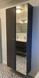 doppel waschbecken mit schubladen hochschrank badezimmermöbel