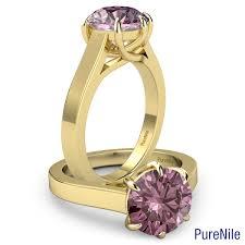 AJaffe Five Stone Trellis Set Engagement Ring MES030160