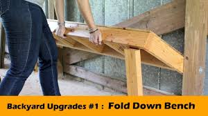 DIY Fold Down Bench Seat ~ Backyard Upgrades #1 - YouTube Better Sit Down For This One An Exciting Book About The History Of Table Fniture Wikipedia List Of Types Gateleg Table 50 Amazing Convertible Coffee To Ding Up 70 Off Modern Wallmounted Desk Designs With Flair And Personality Drop Down Murphy Bar Diy Projects Bloggers Follow In 2019 Flash Fniture 30inch X 96inch Plastic Bifold Home Twenty Ding Tables That Work Great Small Spaces Living A Dropleaf Tables For Small Spaces Overstockcom Amazoncom Linon Space Saver Set Kitchen Cube 5 1 Ottoman Seat Expand Folding