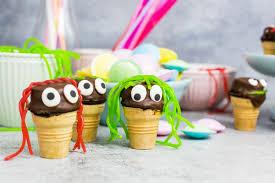 muffins im waffelbecher toll für kindergeburtstage a