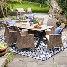 Threshold Patio Furniture Covers by Heatherstone Wicker Patio Furniture Collection Threshold Target