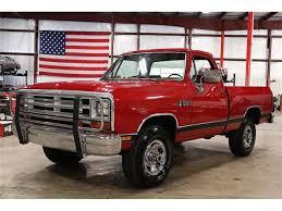 100 1988 Dodge Truck Ram For Sale ClassicCarscom CC1140047