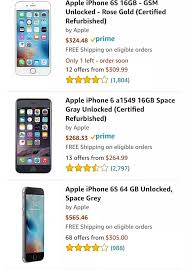 What is the current price of iPhone 6s in USA after the release of