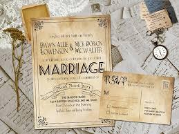 Unique Rustic Wedding Invitations Idea In Design And Color