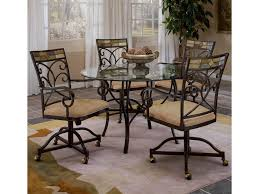 Hillsdale Pompei Scrolling 5 Piece Dining Set With Casters | Wayside ... Ding Chairs Set Of 4 Ebay Fniture Target Ikea Forge X Back Chair Outlet Bumper Pool Poker Table Ding 3 In 1 Bayou Breeze Brisa Tilt Swivel Caster Wayfair 5 Piece Dinette Set With Cherry Finish Pastel Room Casting Sets With Upholstered Arm Chair Cdigestinfo Hooker Waverly Place Tall Upholstered Best Chairs Platafmamovimientosocialorg Hamilton Home Game Leather Casters Hillsdale Pompei Scrolling Wayside Casual San Diego Table Decor Five Bernhardt