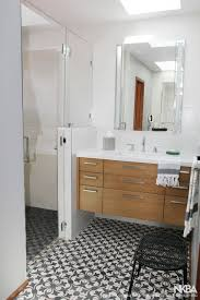 Mid-Century Modern Bath - NKBA Small Mid Century Modern Bathroom Elegant Inspired 37 Amazing Midcentury Modern Bathrooms To Soak Your Nses Design Vanity Hd Shower Doors And Paint In Remodel Floor Tile Best Of Ideas For Best Mid Century Bathroom Style Project Sewn With Metro Curtain 74 Most Magic Transform On Interior