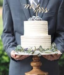 Rustic Wedding Cake Two Tiered Torta De Novios Rustica