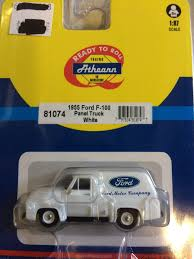 100 1955 Ford Panel Truck Athearn 81074 187 HO Scale White F100 Trainz
