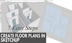 Make A Floor Plan 7 Easy Steps To Make A Floor Plan In Sketchups Sketchup Files