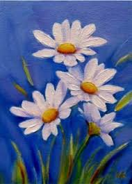 Easy Canvas Paintings Of Flowers Best Painting 2018