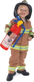 Firefighter Child Costume (Tan) From CostumeExpress.com | Halloween ...