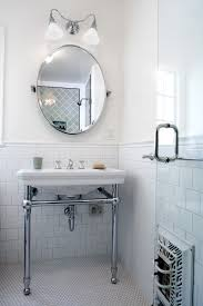 subway tile wainscoting bathroom gallery tile flooring design ideas