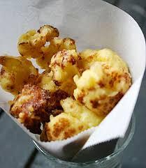 cuisiner le choux fleur tempura de chou fleur