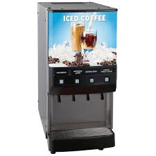 Bunn 373000016 JDF 4S 4 Flavor Cold Beverage Iced Coffee Dispenser With Water Tap