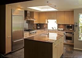 Modern Light Wood Kitchen Cabinets & Design Ideas