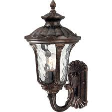 volume lighting 1 light vintage bronze outdoor wall mount v8462 72