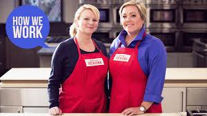 We Are Julia Collin Davison and Brid Lancaster Hosts of