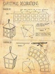 Paper Lantern Templates For Christmas