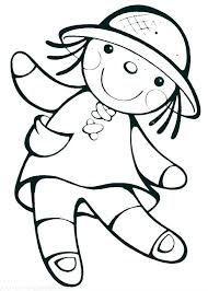 Doll Coloring Page Pictures 1 Dolls Barbie Princess Pages Bonbon Lol Surprise Unicorn Nesting Co