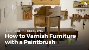 How To Varnish Furniture With A Paintbrush | Furniture Restoration Fniture History Britannica Bayer Ag Desk With Drawers Polyurethane Rfg 1970s Reserved Samsonite Card Table Fiberboard 1950s Vintage Industrial Swivel Side Chair Set Of Four Brass Ding Chairs By Willy Rizzo Chromcraft Smoked Lucite Dirty Girls Ambesonne 70s Party Tablecloth Music Theme Colorful Stars Flowers Notes Record Vinyl Discography Artwork Print Room Kitchen Rectangular Table Small Drop Leaf Tables 80 For Sale On 1stdibs Sindy Dressing