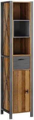 woodkings bad hochschrank detroit recyceltes holz rustikal