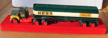1967 Hess Tanker Truck Red Velvet Base With Box | Hess Trucks By The ...