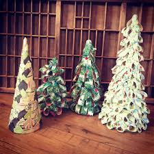 Types Of Christmas Tree Leaves by Paper Tree Class U2014 Reclaimed Rose