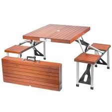 Free Wood Folding Table Plans by Free Folding Picnic Table Plans Inside Wood Renate
