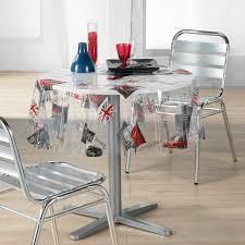 nappe cristal transparente protection table et nappe ronde 140 cm