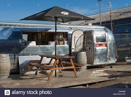 100 Vintage Airstreams For Sale A Vintage Airstream Caravan Or Trailer Now Converted Into A Cafe