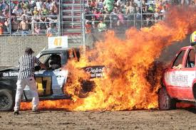Referee Pulls Man From Burning Truck At Demo Derby | Local News ... Home Combine Demo Derby Wright County Fair Howard Lake Minnesota Monster Truck 3d Android Apps On Google Play Derby Fireworks End Fair With A Bang News Ncwsonlinecom Family Sport Logan Duvalls Demolition Car Holley Blog Joel Sternfeld A Man Waiting For Tow To Take His Kdda 2017 Youtube Kdhamptons Feast End Trucks Roll In To Bridgehampton For The Saints Row 2 Pictures Nascar Five Drivers Who Should Run At Eldora In 2018 Kelly Summerswietsma Twitter Ram Award 143rd Ky Apkpilotcom